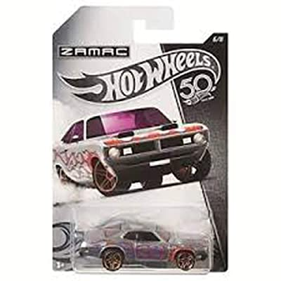 HOT WHEELS ZAMAC '71 DODGE DEMON 6/8 50TH ANNIVERSARY: Toys & Games