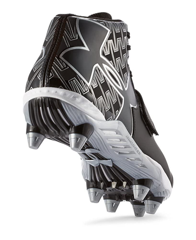Under Armour Mens UA C1N Mid Football Cleat