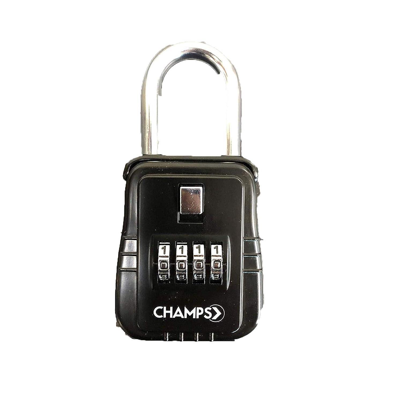 Champs Combination Realtor Lock, 4 Digit Key Padlock, Real Estate ...