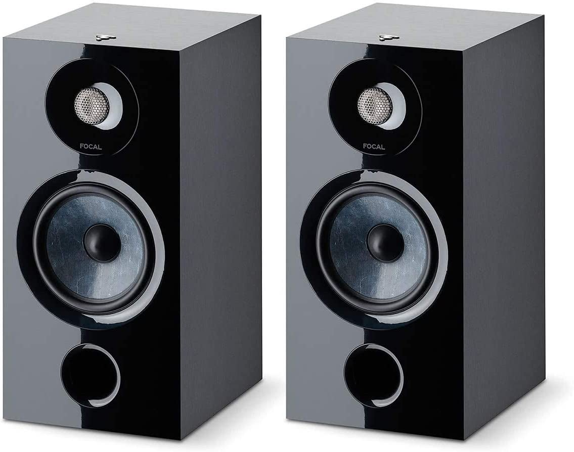 Focal Chorus 806 Bookshelf Speaker – Pair Black