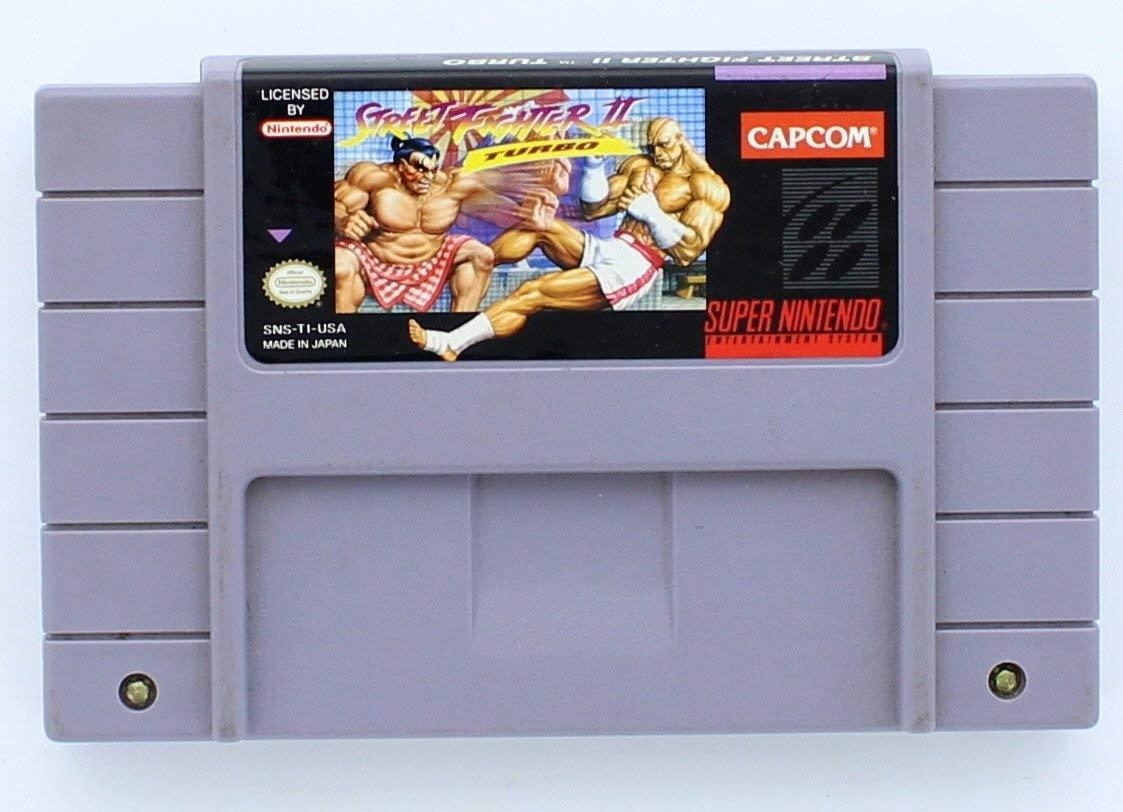 Amazon Com Street Fighter Ii Turbo Renewed Video Games