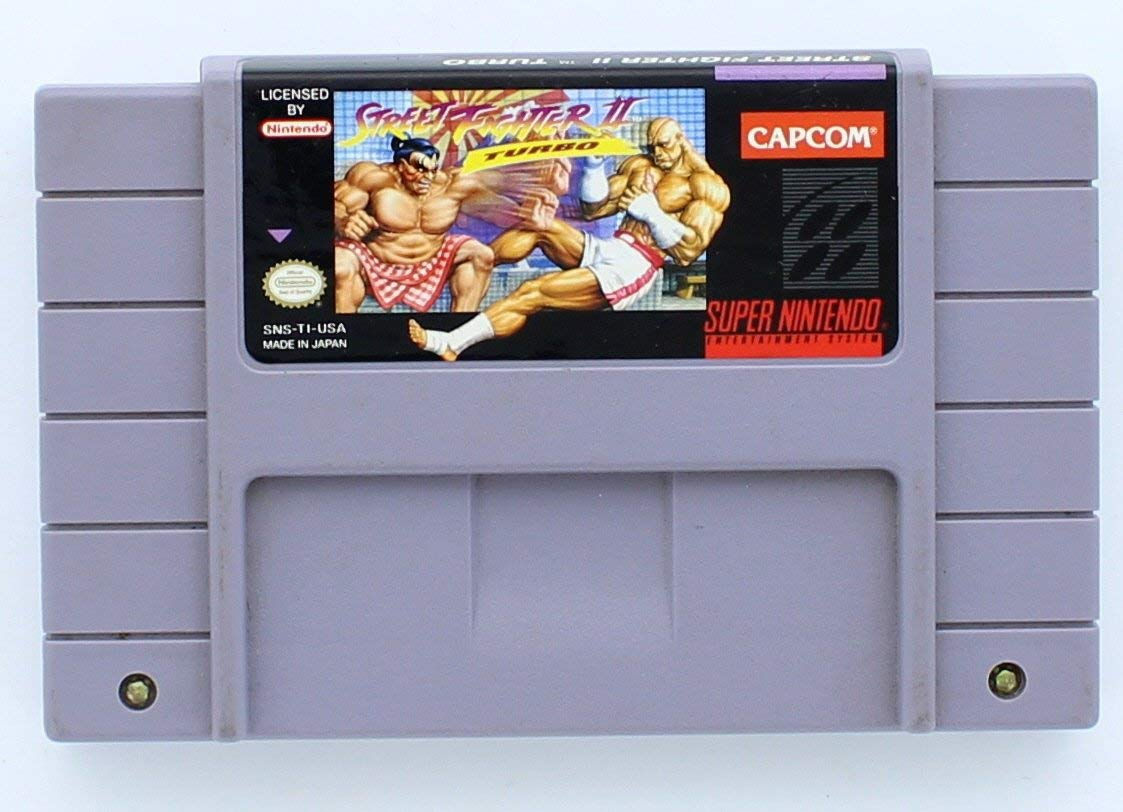 Image Unavailable. Image not available for. Color: Street Fighter II Turbo ...