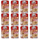 HARTZ Delectables Bisque Lickable Cat Treats for Senior Cats 15+ Years, Tuna & Chicken, 1.4 oz, Pack of 12