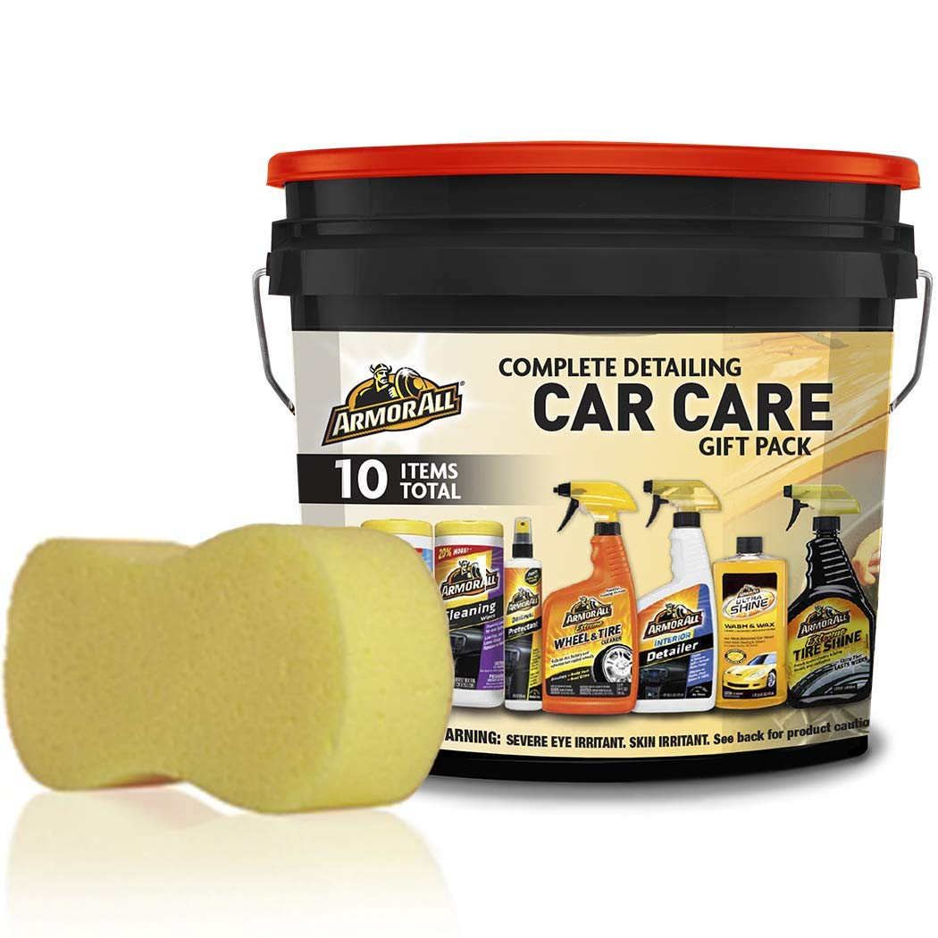 Armor All Pack Bucket, Pack (Armor All Complete Ultimate Car Care Gift Pack)