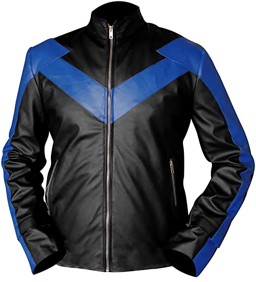 028fc6db3 Danny Shepherd Famous Dick Grayson Nightwing Jacket at Amazon Men's ...