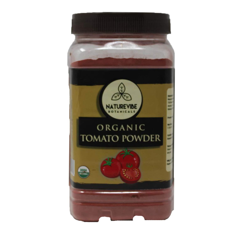 Naturevibe Botanicals Organic Tomato Powder 1lb (16 ounces) | Non GMO | Adds flavor and taste
