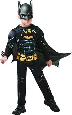 Fancy Ole – Disfraz de Batman para niño con una Sola Pieza, Capa y ...