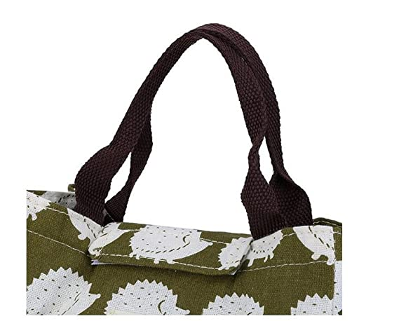 Amazon.com: SUNEO - Bolsa de almuerzo portátil con ...