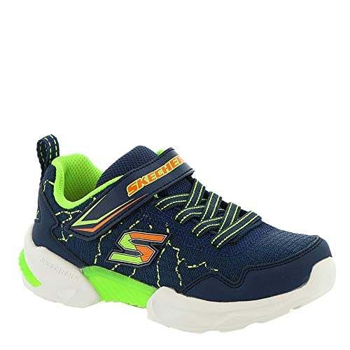 Skechers 97841 NVLM Navy Lime Blu Scarpe Bambino Elastico Strappi Memory  Air Cooled  Amazon.it  Scarpe e borse 5038903855c