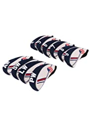 MagiDeal Golf Club Headgear Golf Iron Guard Iron Covers 10 Pieces / Set Made Of Neoprene