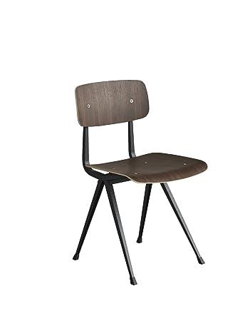 Rietveld Stuhl hay result stuhl geölte räuchereiche schwarz gleiter für