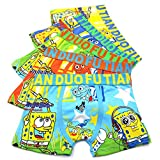 Toddler Boys Character SpongeBob Boxer Briefs Vibrant Colors Underwear 5 Pack