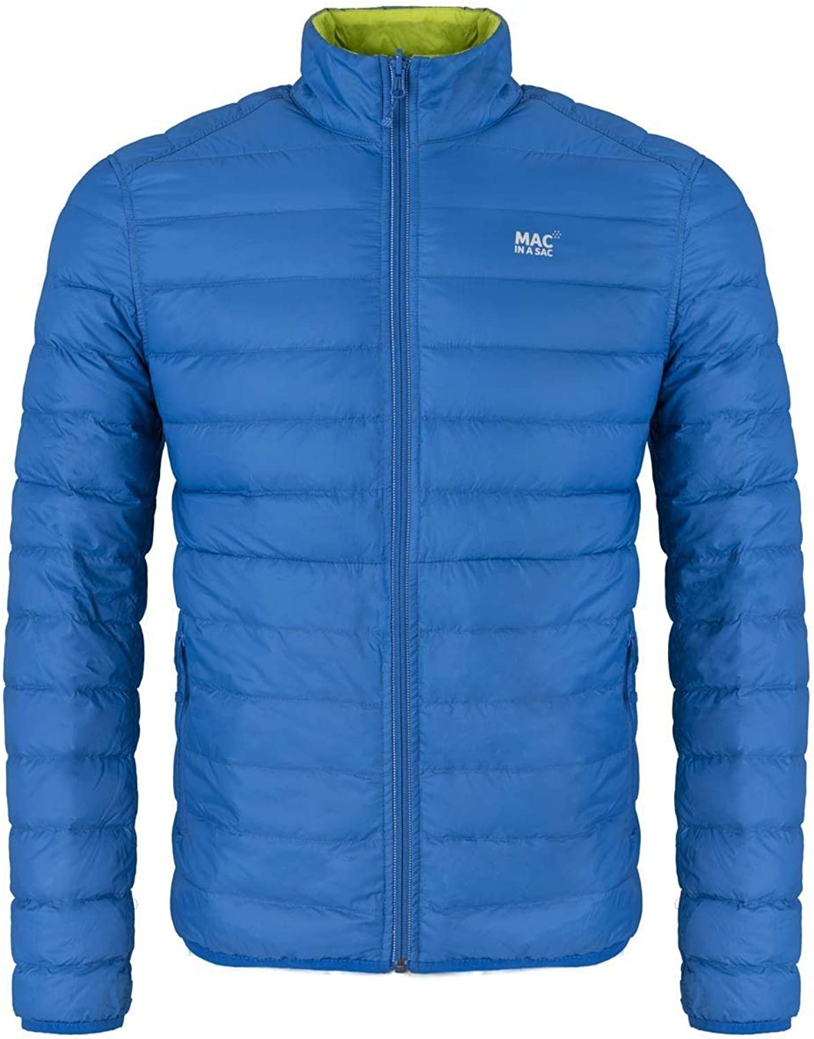 Mac in a Sac Polar Men's Packable Slim Fit Reversible Down Jacket