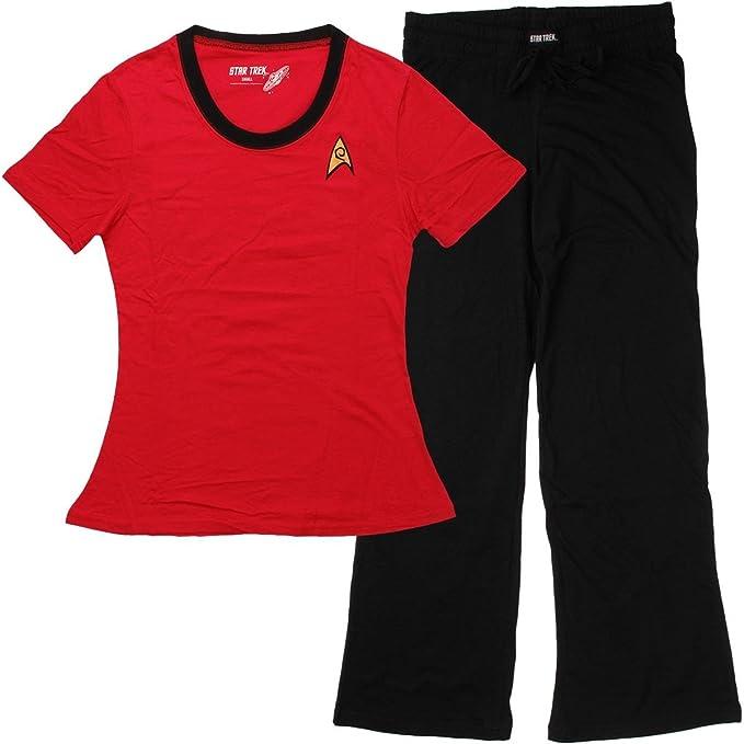 Amazon.com: Star Trek Uhura Junior Pajama Set: Clothing