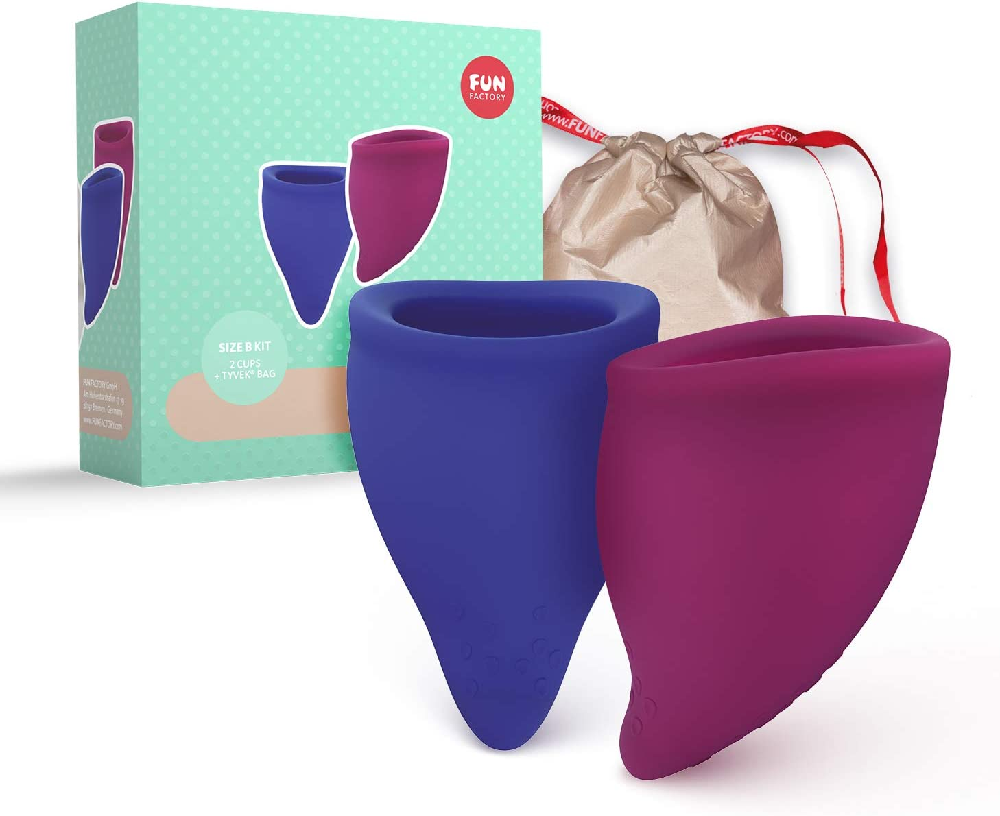 Fun Factory FUN CUP - Copa menstrual talla B silicona medica ...