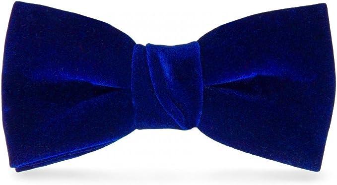 cravateSlim Pajarita Terciopelo Azul Rey: Amazon.es: Ropa y accesorios