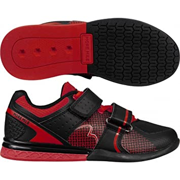 More Mile Super Lift 3 Mens Womens CrossFit Weightlifting Shoes - Red   Amazon.co.uk  Sports   Outdoors 3aa69b831
