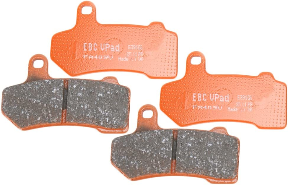 best semi sintered brake pad change kit for Harley touring bikes