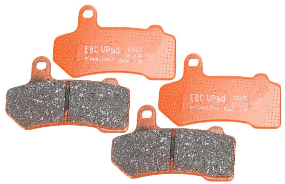 EBC Brakes EBPCK2013 Front Semi-Sintered V-Pads Brake Pad Change Kit