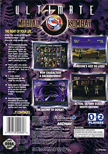 Ultimate Mortal Kombat 3: Computer and Video Games - Amazon ca