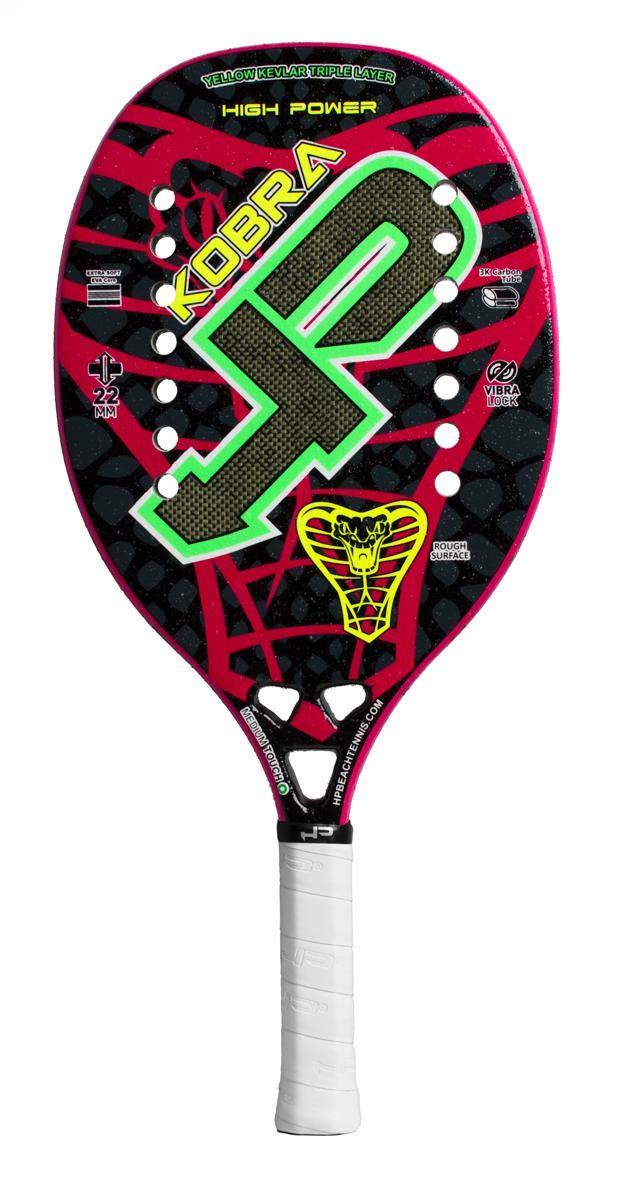 Amazon.com : High Power HP Racket Racquet Beach Tennis Kobra ...