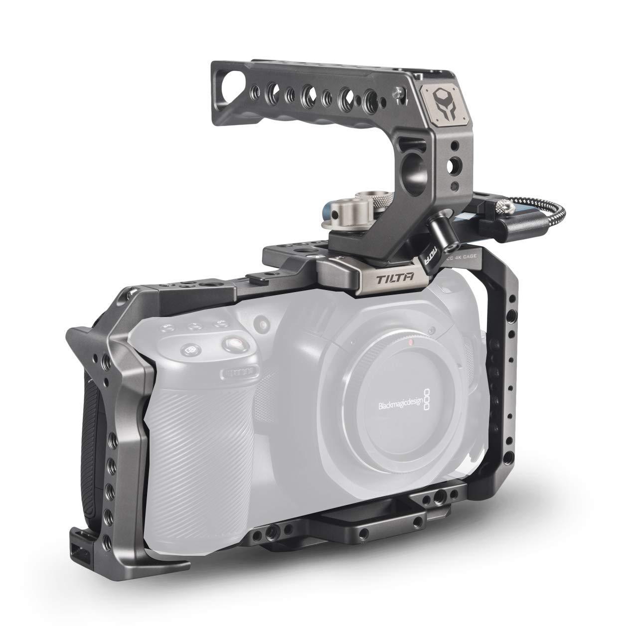 Tilta - Jaula para cámara BMPCC 4K, Color Gris: Amazon.es: Electrónica