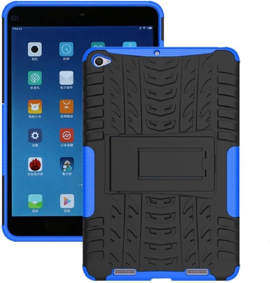 Funda Resistente híbrida 2 en 1 de Alta Resistencia para Xiaomi Mipad 2 Cubierta para MiPad 3 7.9 Mipad3 mipad2 Tablet Funda a Prueba de Golpes-Azul