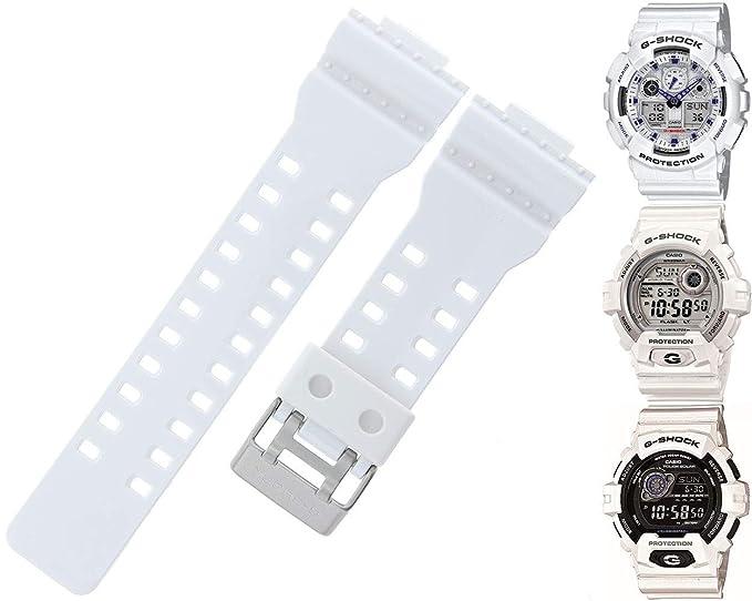 Casio 10347710 Genuine Factory Replacement White Rubber