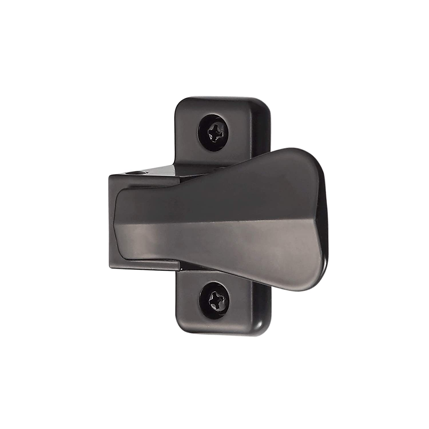 Ideal Security SK357BL 357 Inside Latch for Storm and Screen Doors Includes  Solid Nylon Strike, Black