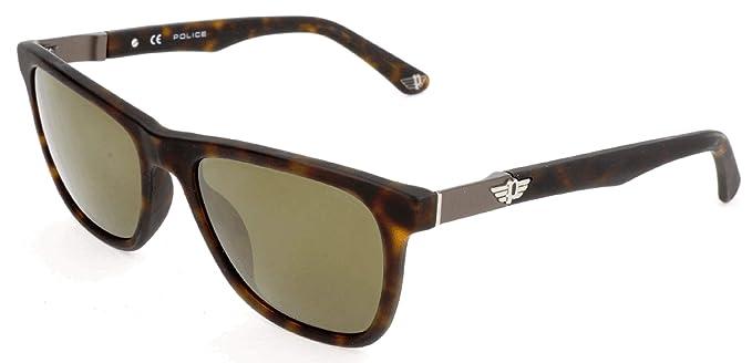 Police Sonnenbrille SPL493 Gafas de sol, Marrón (Braun ...