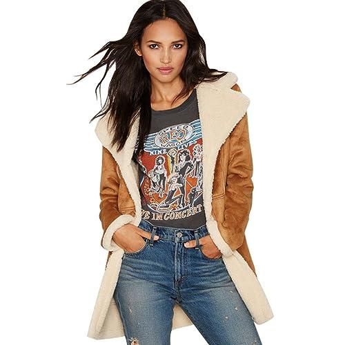 WanYang Mujer Invierno Abrigo Casual Sudadera Chaqueta Jacket Parka Outwear