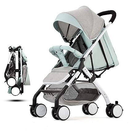 Avión Cochecito de bebé Plegable en un solo paso Carro de bebé ...