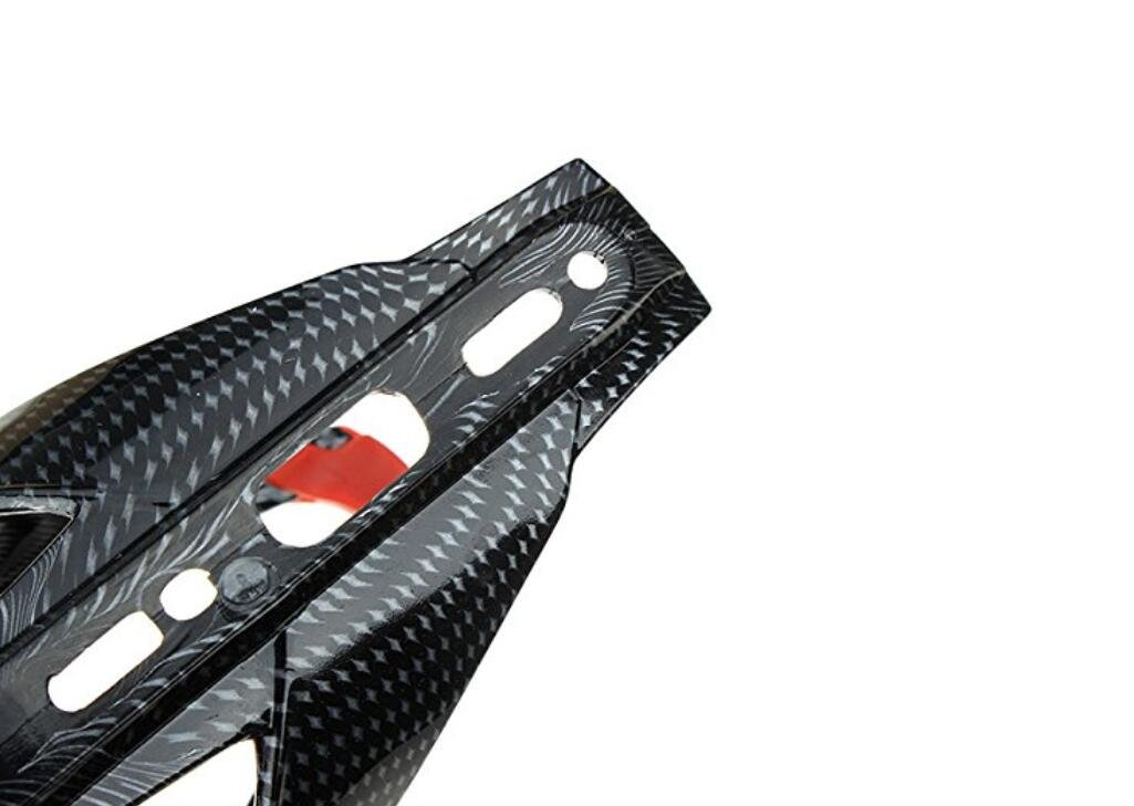 FGVBHTR Soporte para Botella de Agua con patr/ón de Fibra de Carbono para Bicicleta de monta/ña
