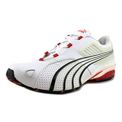 Puma Tarun Lthr Men US 11.5 White Running Shoe