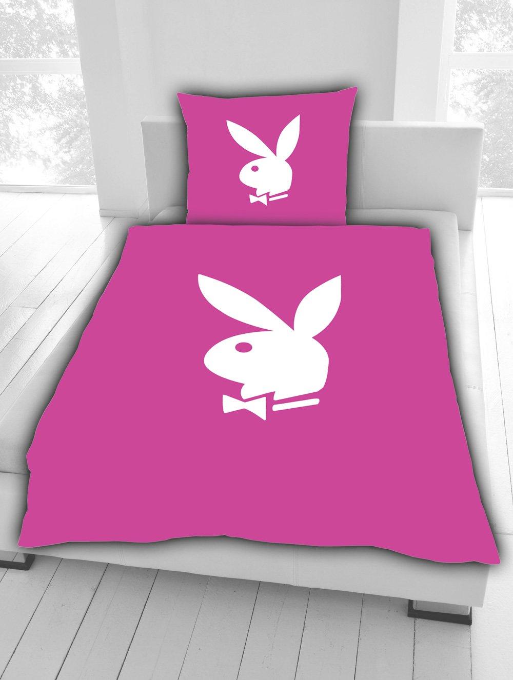 Bettwäschebettwäschegarniturbettüberzug Original Playboy Fbpink