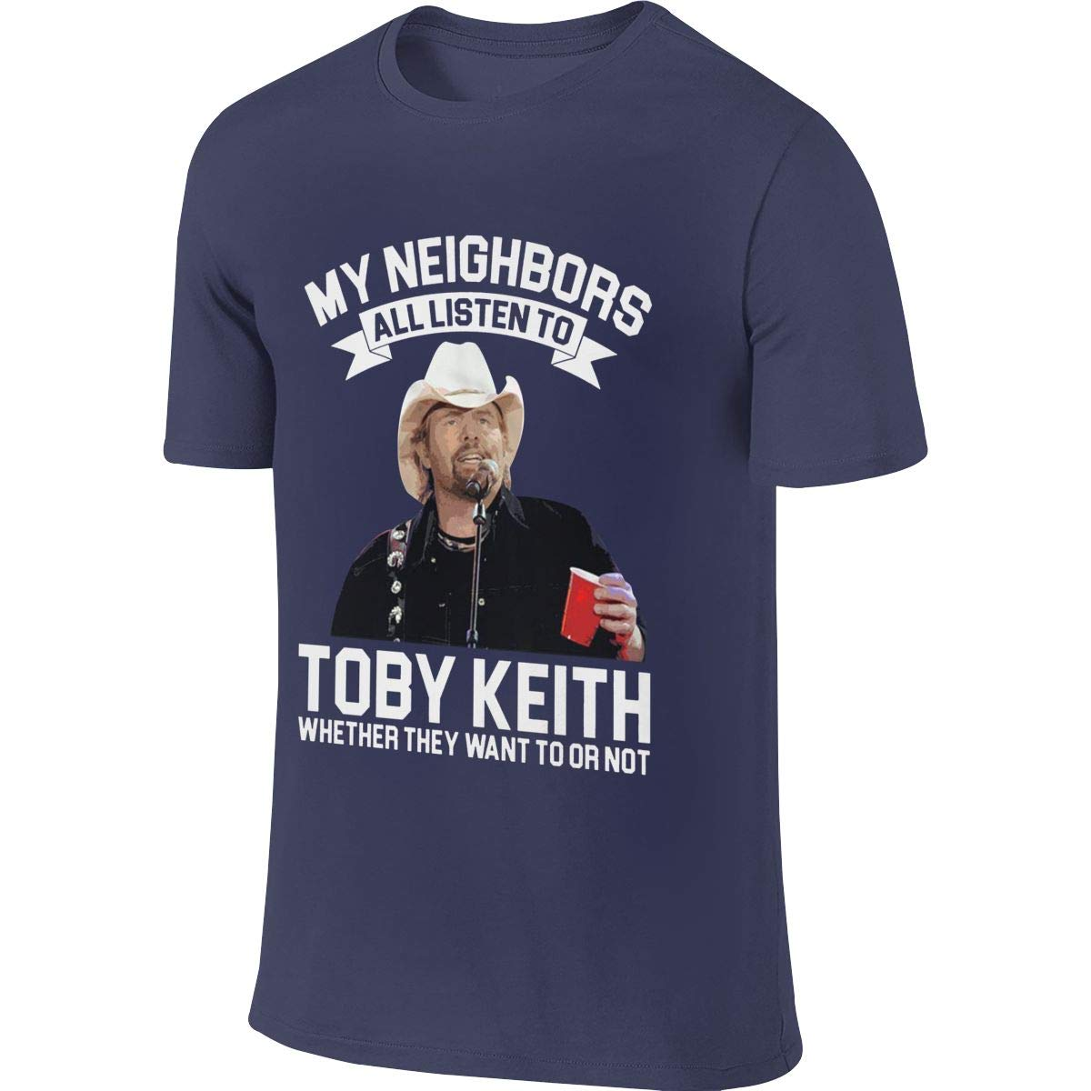 My Neighbors All Listen To Toby Country Singer Keith Humor Travel Deep Heather Shirts