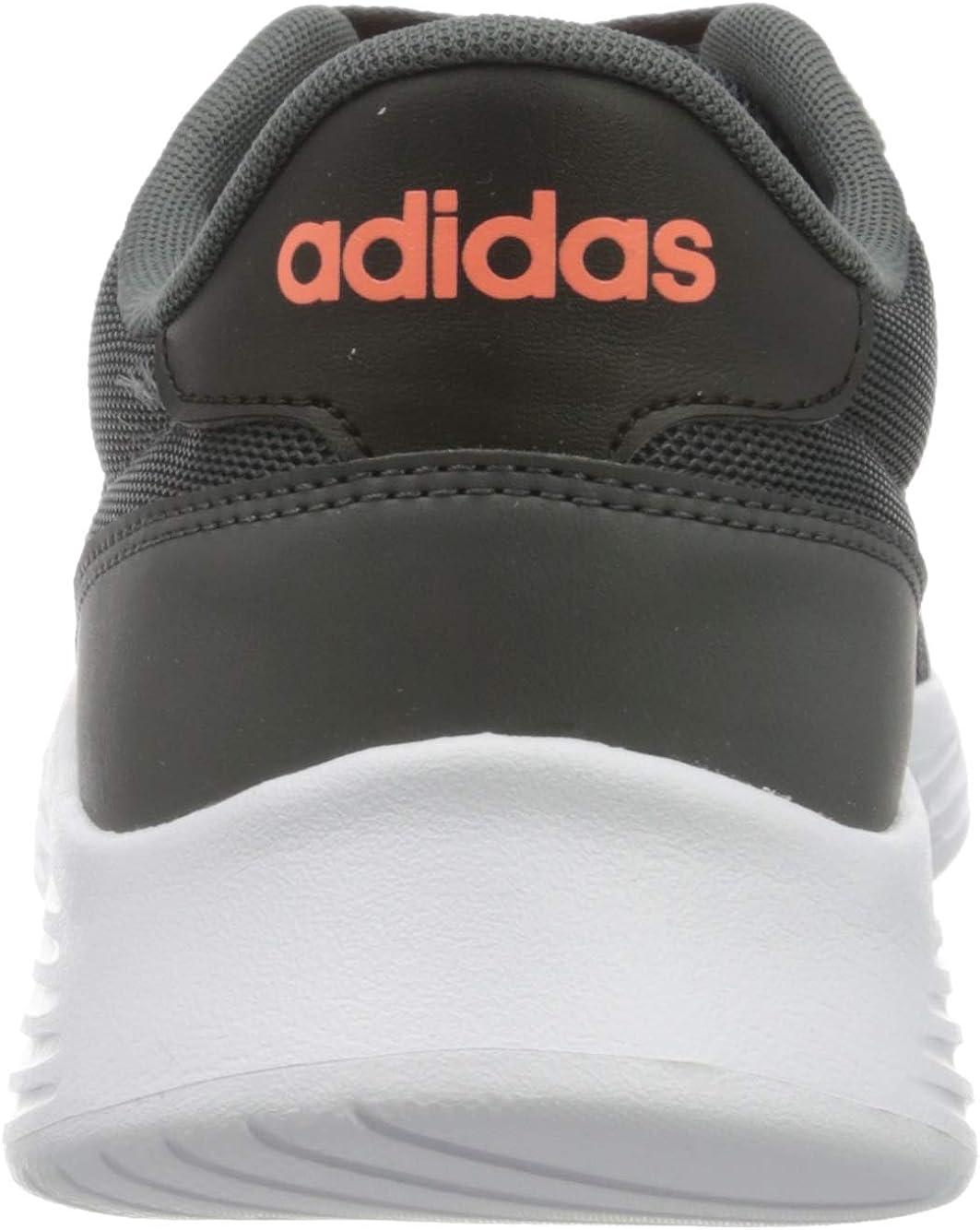 Adidas Herren Lite Racer 2.0 Laufschuh Gray Six Signal Coral Core Black