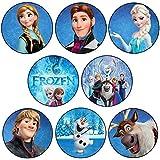 Frozen 8x Magnet-Set (58mm Durchmesser)