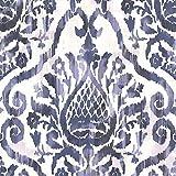 Eijffinger Argos Damasks Wallpaper, Sapphire