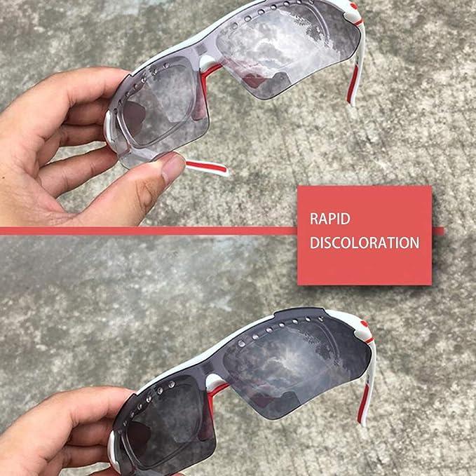 Amazon.com: ANLW - Gafas de sol polarizadas para bicicleta ...