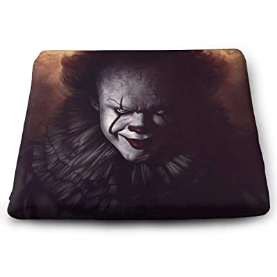 IT Pennywise Square Cushion Thick Large Soft Mat Floor Pillow Seating for Home Decor Garden Party for Chair Pads 15x13.7x1.2Inch: Office Products