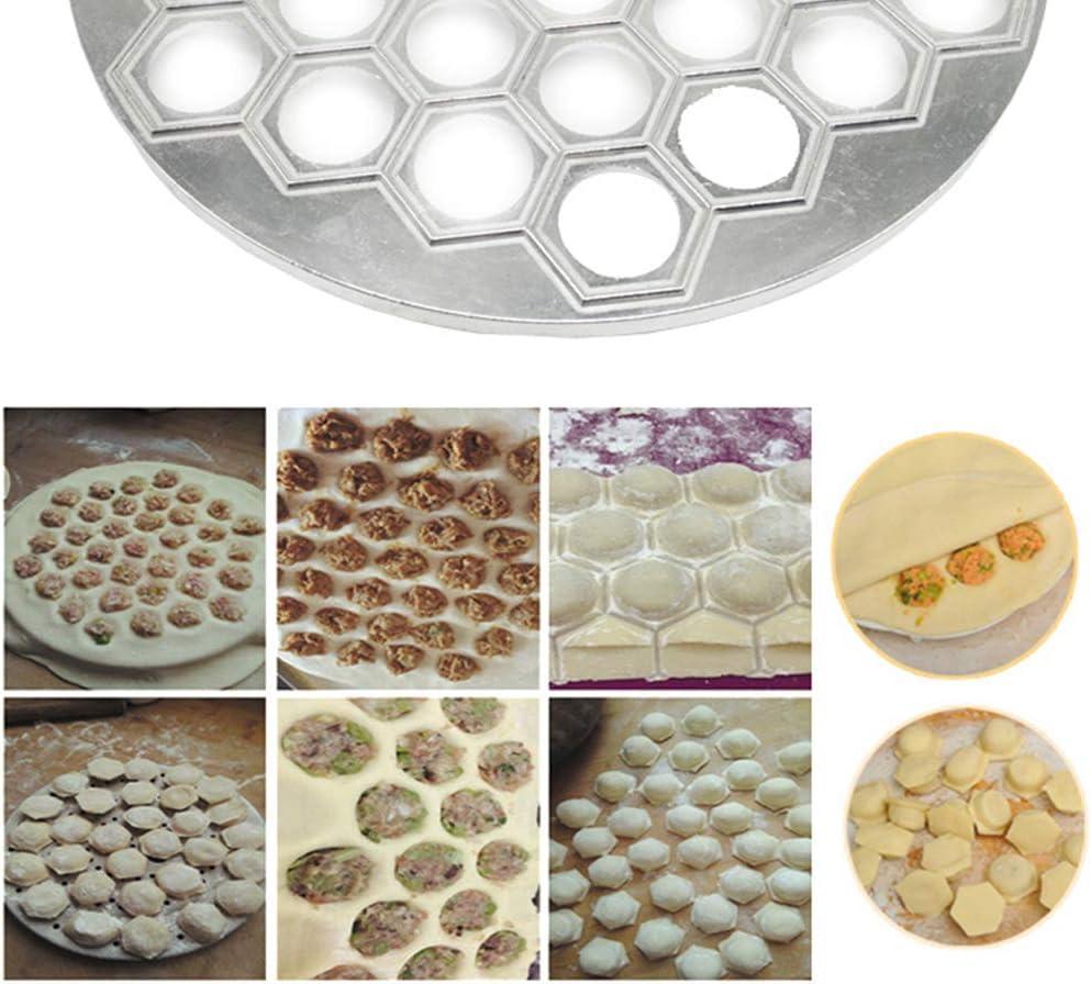 Hotaluyt Lega di Alluminio Dumpling stampista Dumpling Pasta Torta Ravioli Press Muffa DIY di Cottura cuociono lattrezzo
