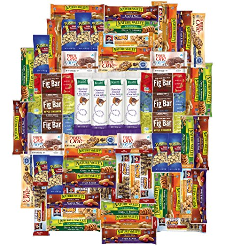Snacks Generation Healthy Bars Care Package (60 (Collage Package)