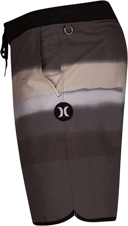 Hurley Mens Printed Stretch 18 Scallop Hem Boardshort Swim Short
