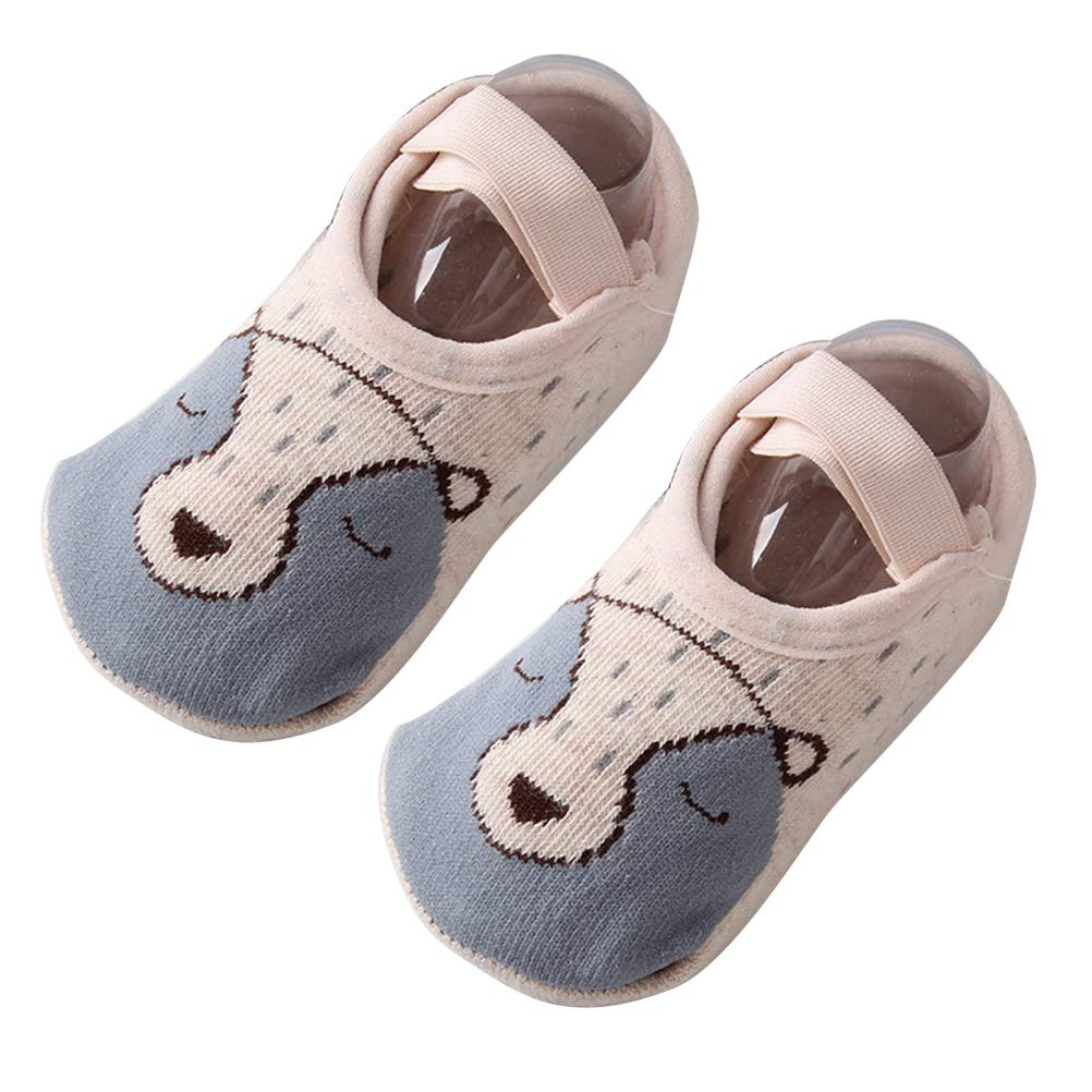 Baby Kleinkind Grip S/öckchen f/ür im Alter von 0-3 Jungen M/ädchen Anti-Rutsch-Boden Str/ümpfe Weesey Baby Socken Kleinkind Kinder Anti-Rutsch-Slipper Socken