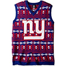 NFL Football 2015 Aztec Print Ugly Holiday Sweater Vest - Pick Team