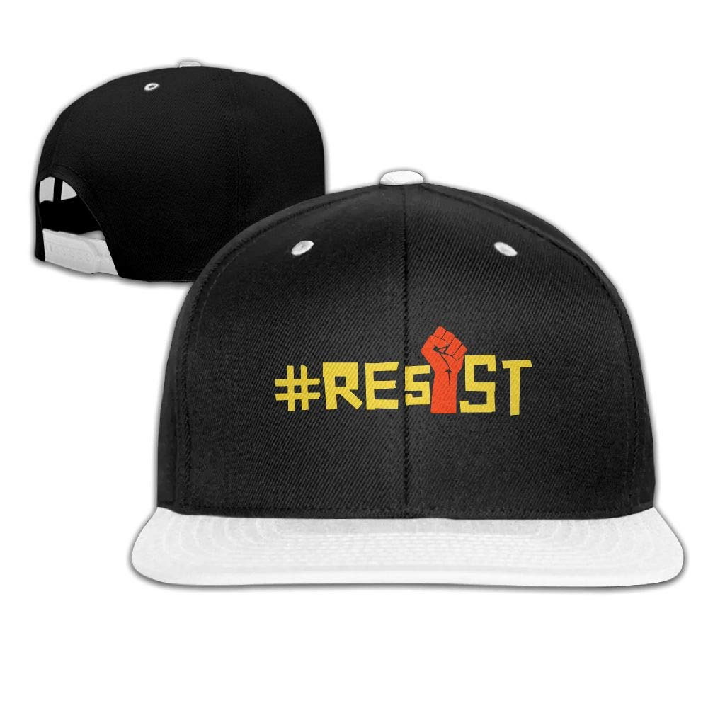 Tailing Resist Red Fist Unisex Hip-hop Hats Snapback Hat Solid Flat Cap