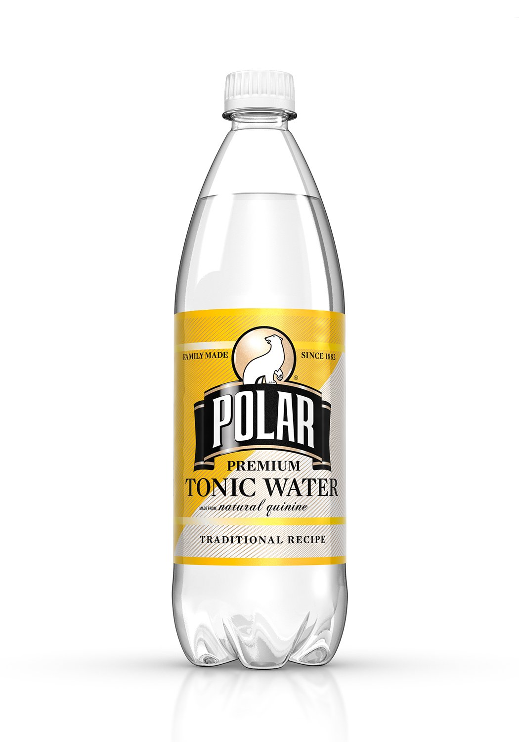 Polar Beverages Tonic Water, 33.8 Fluid Ounce (Pack of 12) by Polar Beverages