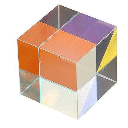 Liqiqi Cristal óptico Triangular PrismToys para la enseñanza ...