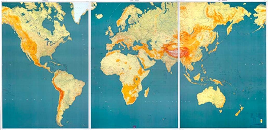 Carte Canada Ign.Ign Carte Du Monde 3 Panneaux Amazon Ca Collectif Books